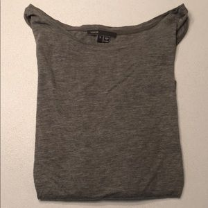 Vince long sleeve cotton t-shirt